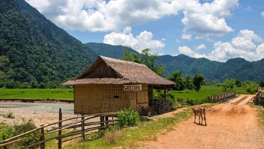 Laos Sehenswürdigkeiten Umgebung Vang Vieng