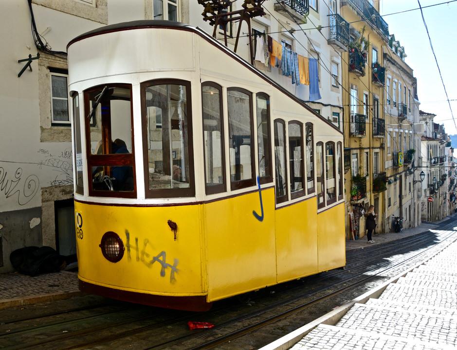Elevador Städtereise Lissabon