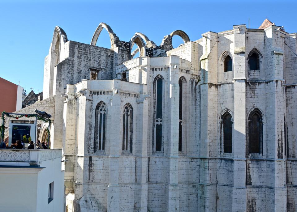 Städtereise Lissabon Igreja do Carmo