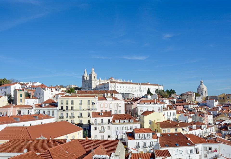 Städtereise Lissabon Miradouro de Santa Luzia