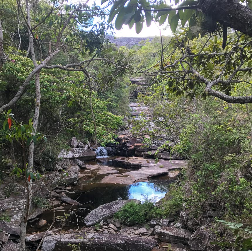 Travellers Insight Reiseblog Chapada Diamantina Fluß