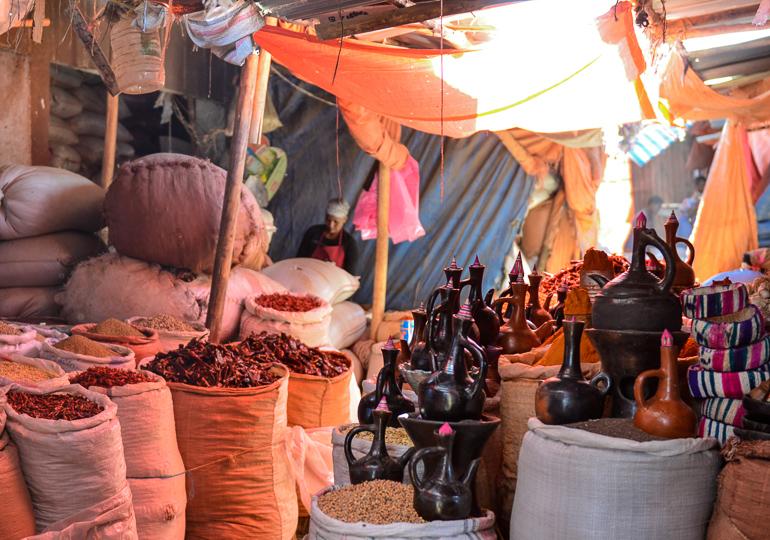 Äthiopien Harar Travellers Insight Reiseblog Markttreiben