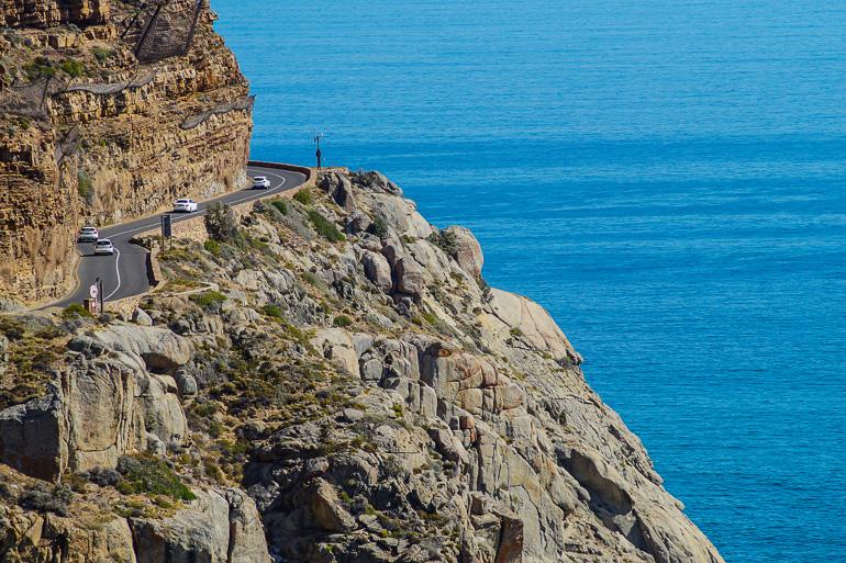 Travellers Insight Reiseblog Südafrika Kapregion Chapman's Peak Drive