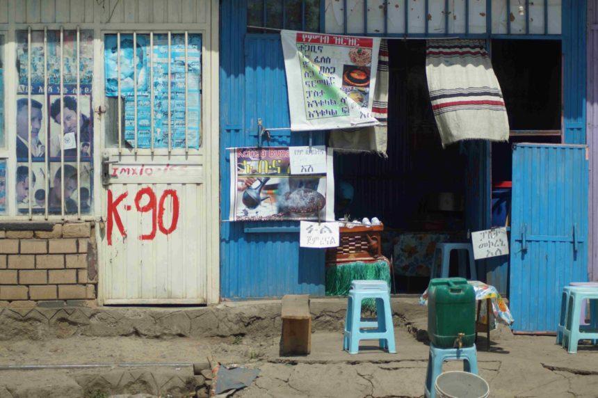 Travellers Insight Reiseblog Kaffee Äthiopien Kaffeestand