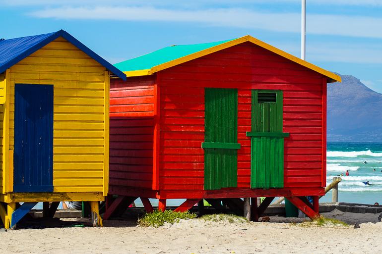 Travellers Insight Reiseblog Südafrika Kapregion Muizenberg Beach
