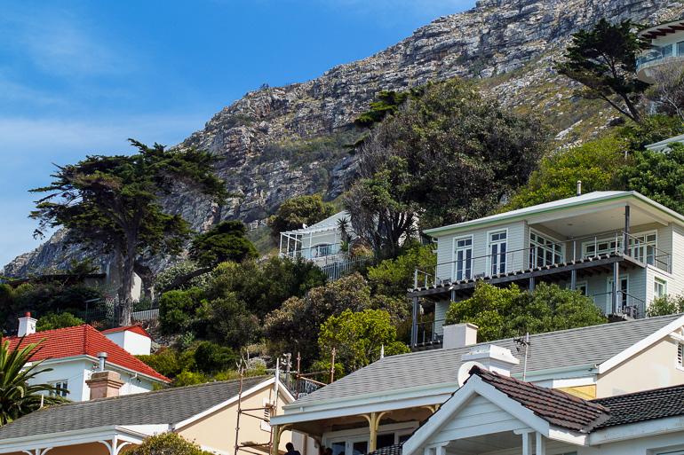 Travellers Insight Reiseblog Südafrika Kapregion Villen am Muizenberg Beach