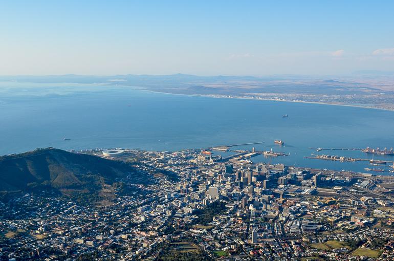 Travellers Insight Reiseblog Südafrika Kapstadt Tafelberg