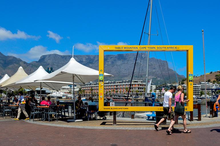 Travellers Insight Reiseblog Südafrika Kapstadt Waterfront Tafelberg