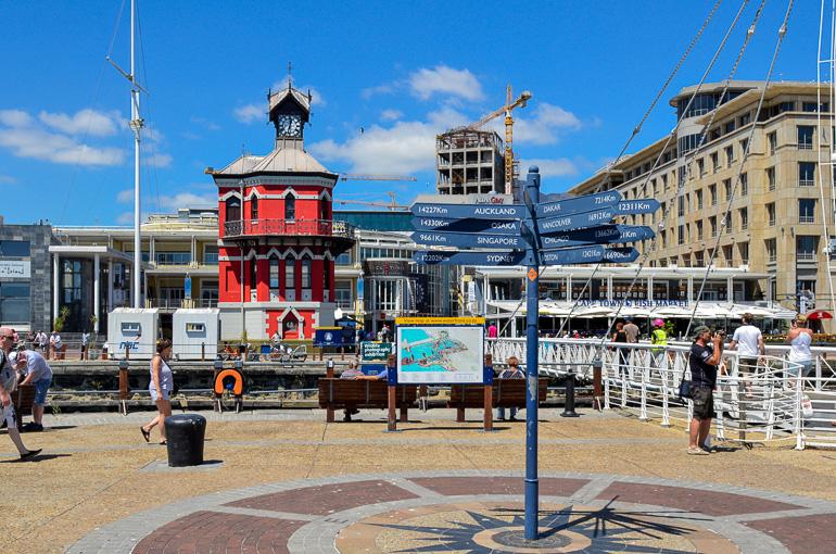 Travellers Insight Reiseblog Südafrika Kapstadt Waterfront Watchtower