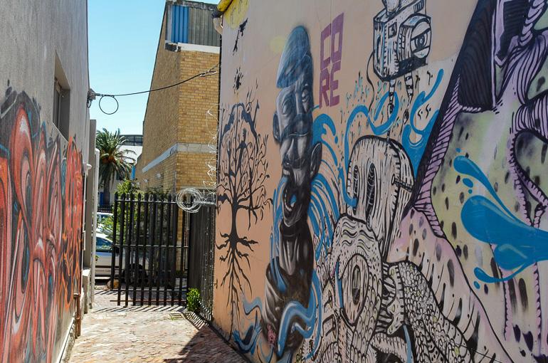 Travellers Insight Reiseblog Südafrika Kapstadt Woodstock Streetart
