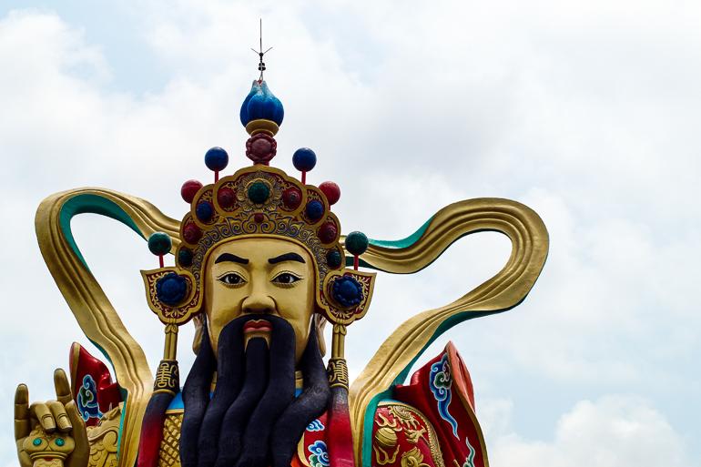 Travellers Insight Reiseblog Taiwan Sun Moon Lake Kaohsiung Lotuspond Statue
