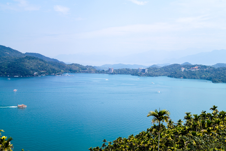 Travellers Insight Reiseblog Taiwan Sun Moon Lake Ausblick