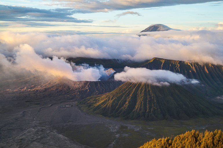 Travellers Insight Reiseblog Indonesien Java Bromo Sonnenaufgang