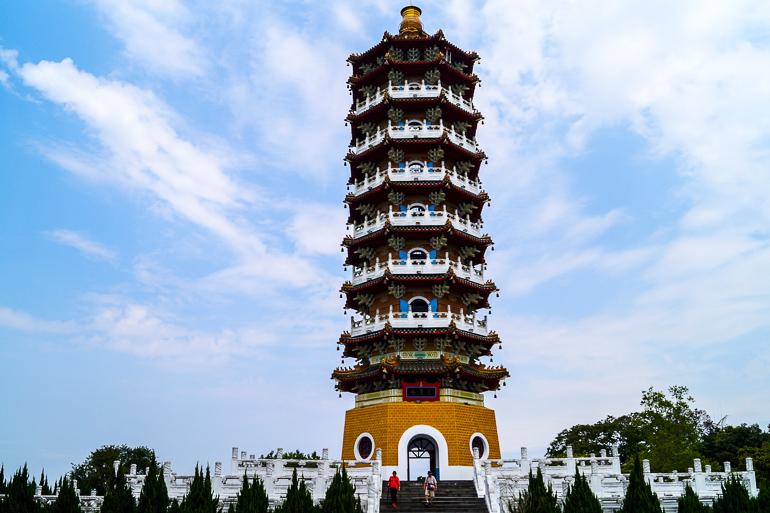 Travellers Insight Reiseblog Taiwan Sun Moon Lake Ci-En Pagode