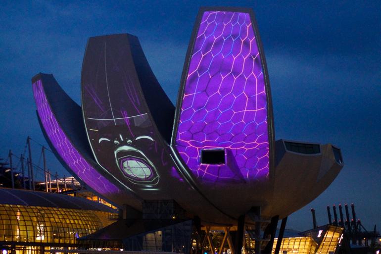 Travellers Insight Reiseblog Singapur Stadtviertel ArtScience Museum