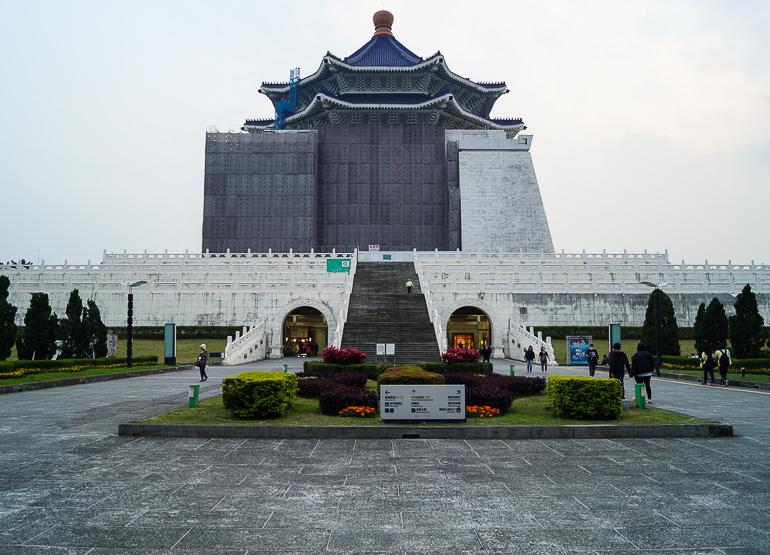 Travellers Insight Reiseblog Taiwan Osten Roadtrip Kai Shek
