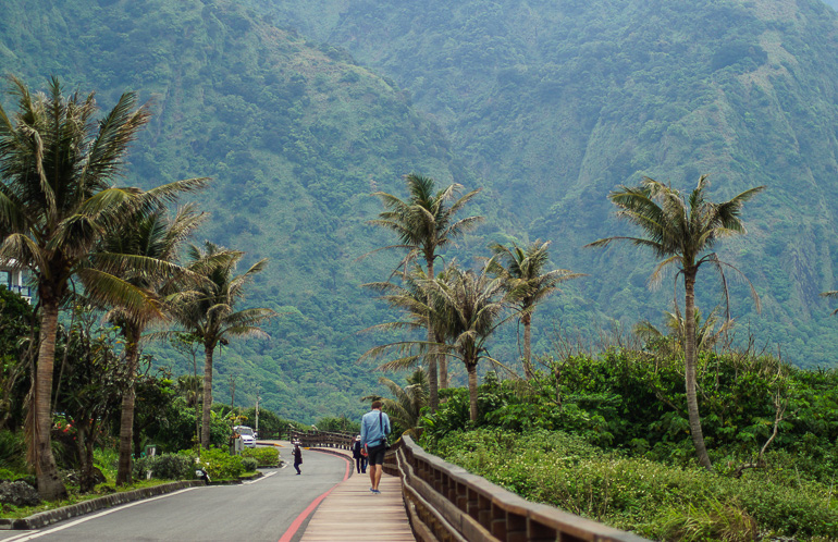 Travellers Insight Reiseblog Taiwan Osten Roadtrip Aussichtpunkt Ostküste