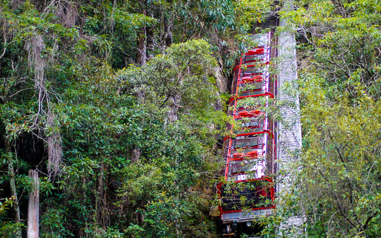 Travellers Insight Reiseblog Blue Mountains Scenic World Railway