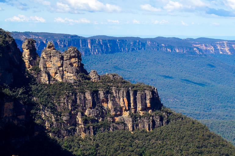 Travellers Insight Reiseblog Blue Mountains Scenic World Three Sisters