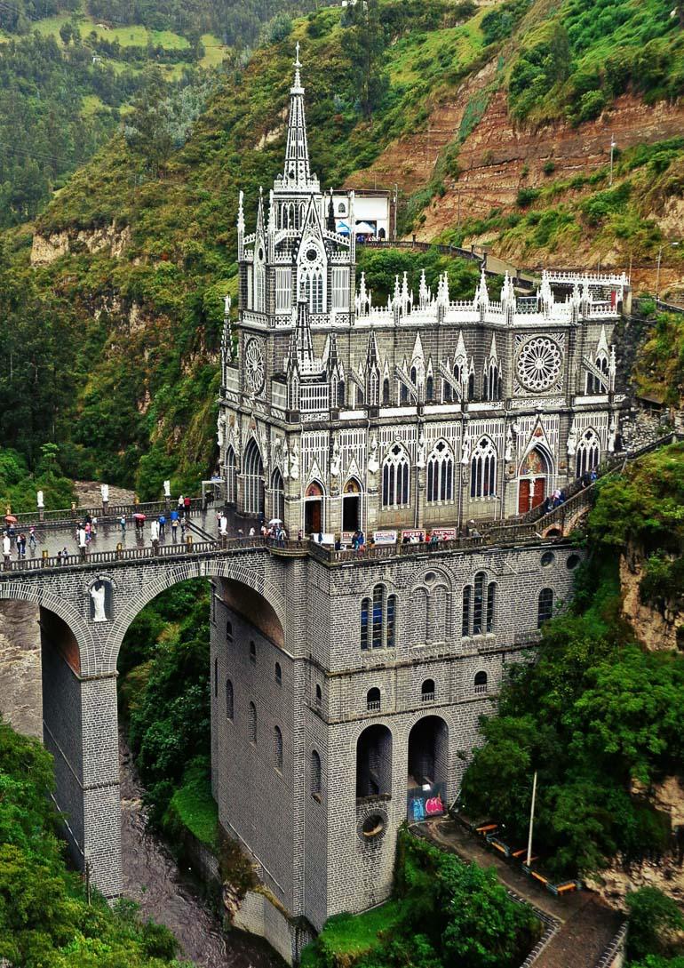 Travellers Insight Reiseblog Gotteshäuser Las Lajas Kolumbien