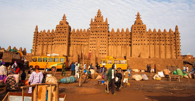 Travellers Insight Reiseblog Gotteshäuser Moschee Djenné
