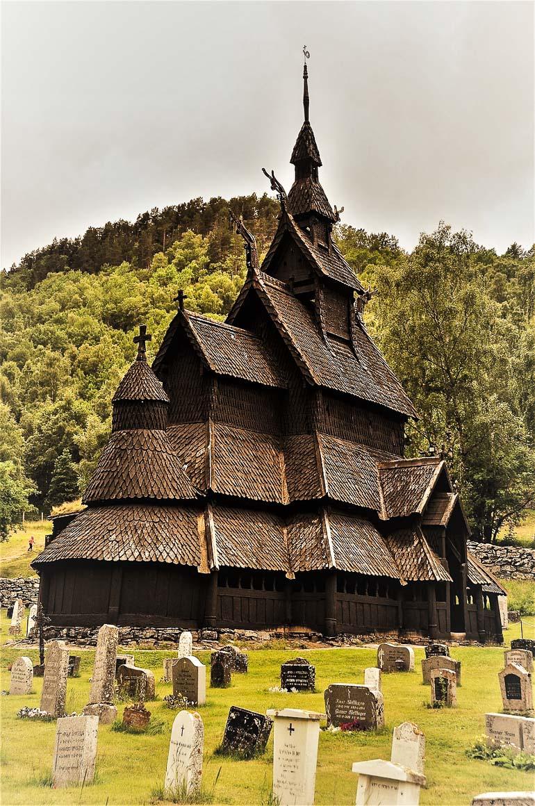 Travellers Insight Reiseblog Gotteshäuser Stabkirche Borgund Norwegen