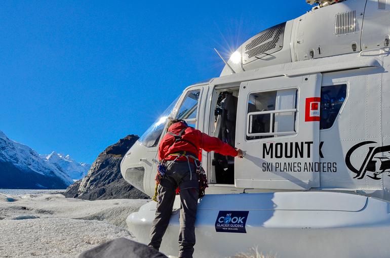 Travellers Insight Reiseblog Neuseeland Reise Tasman Gletscher