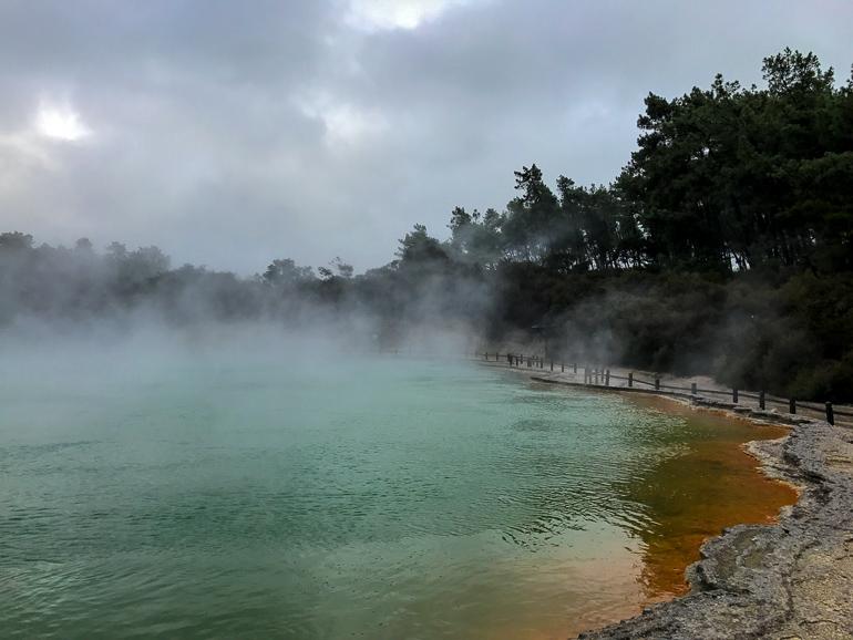 Travellers Insight Reiseblog Neuseeland Reise Rotorua