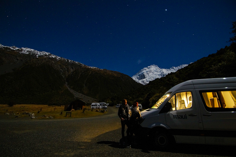 Travellers Insight Reiseblog Neuseeland Tipps Nacht Sternenhimmel