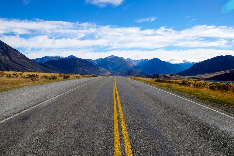 Travellers Insight Reiseblog Neuseeland Tipps Straße