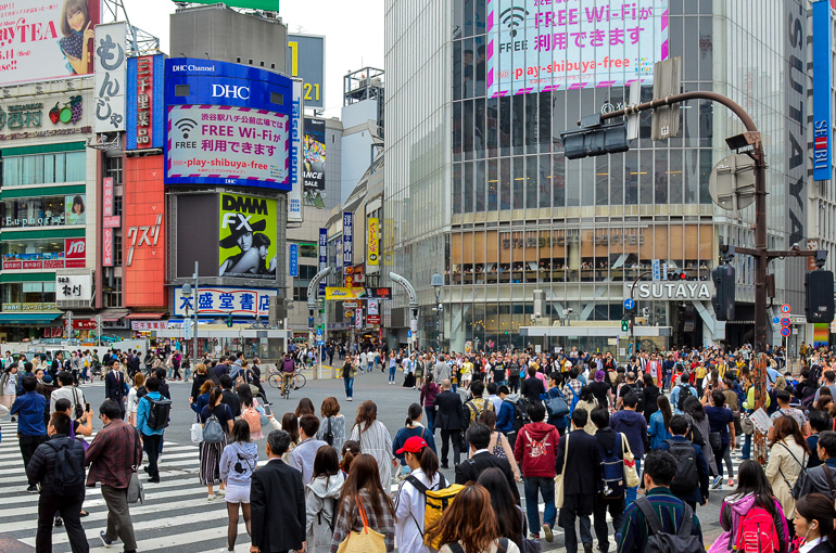 Travellers Insight Reiseblog Tokio Highlights Shibuya