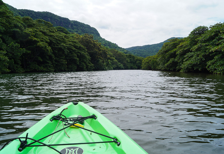 Travellers Insight Reiseblog Yaeyama Inseln Japan Kayak Iriomote