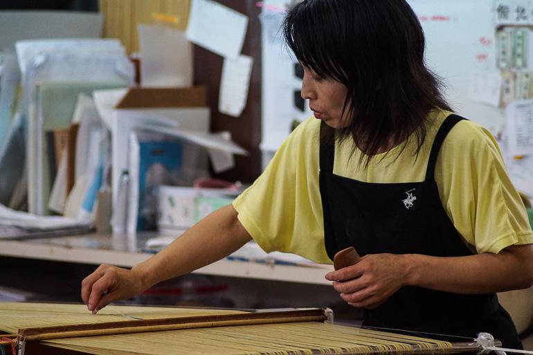 Travellers Insight Reiseblog Yaeyama Inseln Japan Minsa Weberei