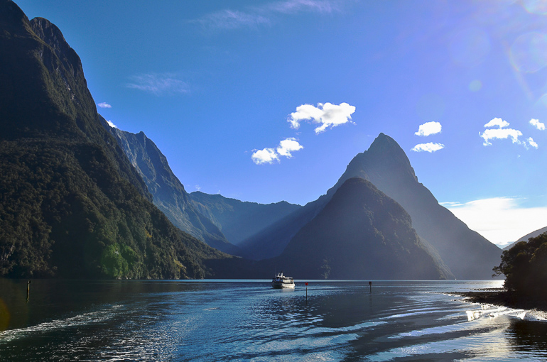 Travellers insight Reiseblog Neuseeland Südinsel Roadtrip Milford Sound
