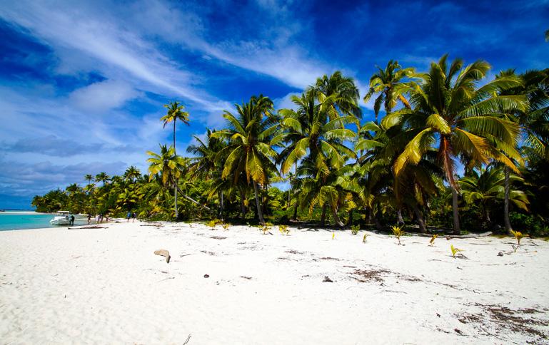 Travellers Insight Reiseblog Cook Inseln Aitutaki One Foot Islands
