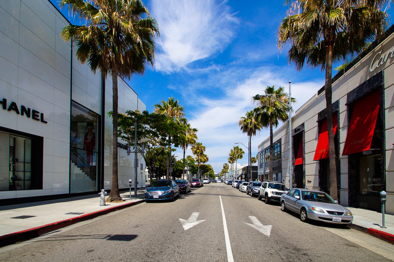 Travellers Insight Reiseblog Los Angeles Tipps Rodeo Drive Chanel Cartier