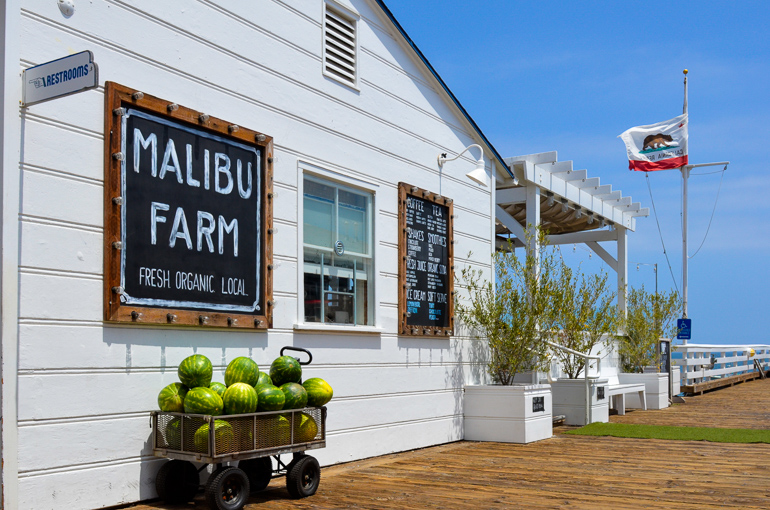 Travellers Insight Reiseblog Santa Monica Malibu Farm Restaurant