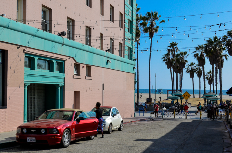 Travellers Insight Reiseblog Santa Monica Venice Beach Seitenstraße