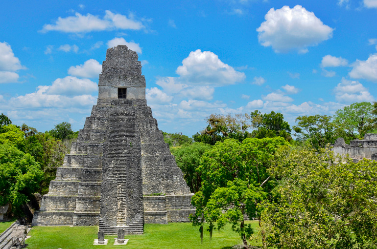 Guatemala-Tikal-Tempel
