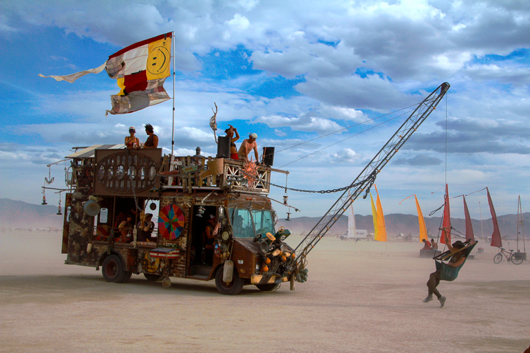 Travellers Insight Reiseblog Events weltweit Burning Man Festival