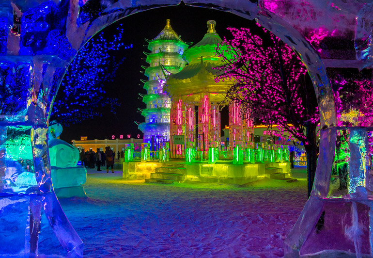 Travellers Insight Reiseblog Events weltweit Harbin Ice Festival