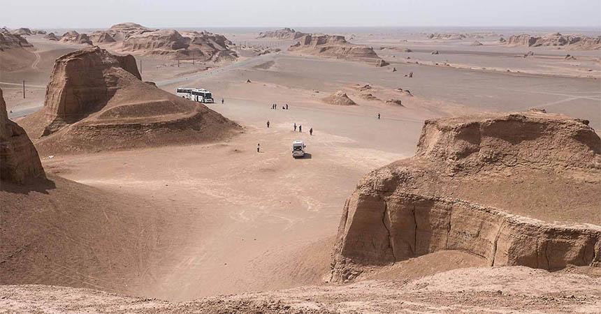 Travellers Insight Reiseblog Iran Eisenbahn Wüste Lut