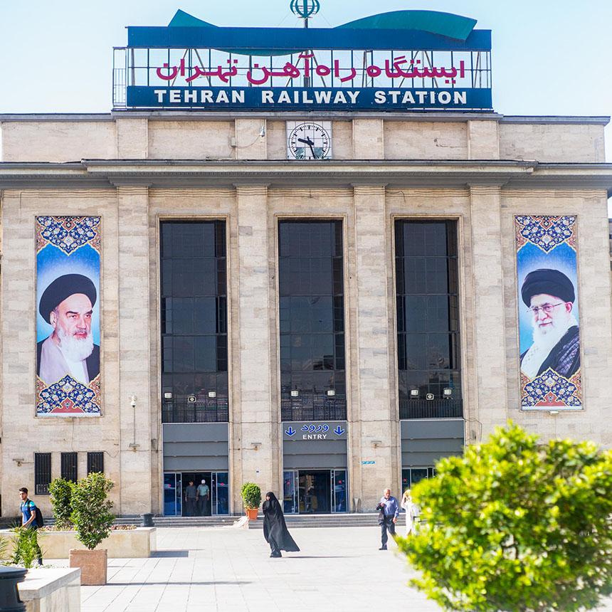 Travellers Insight Reiseblog Iran Eisenbahn Teheran Hauptbahnhof