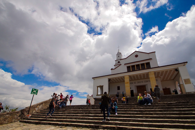 Travellers Insight Reiseblog Kolumbien Bogotá Cerro de Monserrate