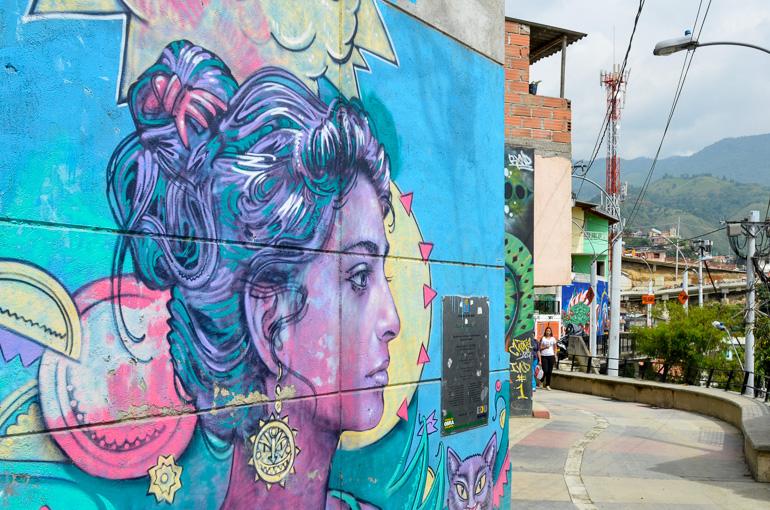 Travellers Insight Reiseblog Kolumbien Sehenswürdigkeiten Medellin Streetart