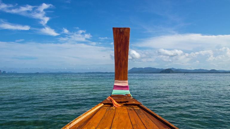 Travellers Insight Reiseblog Koh Mook Koh Kradan Longtailboot