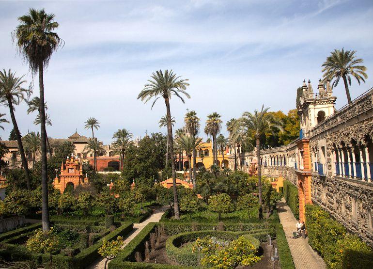 Travellers Insight Reiseblog Sevilla Alcazar Garten