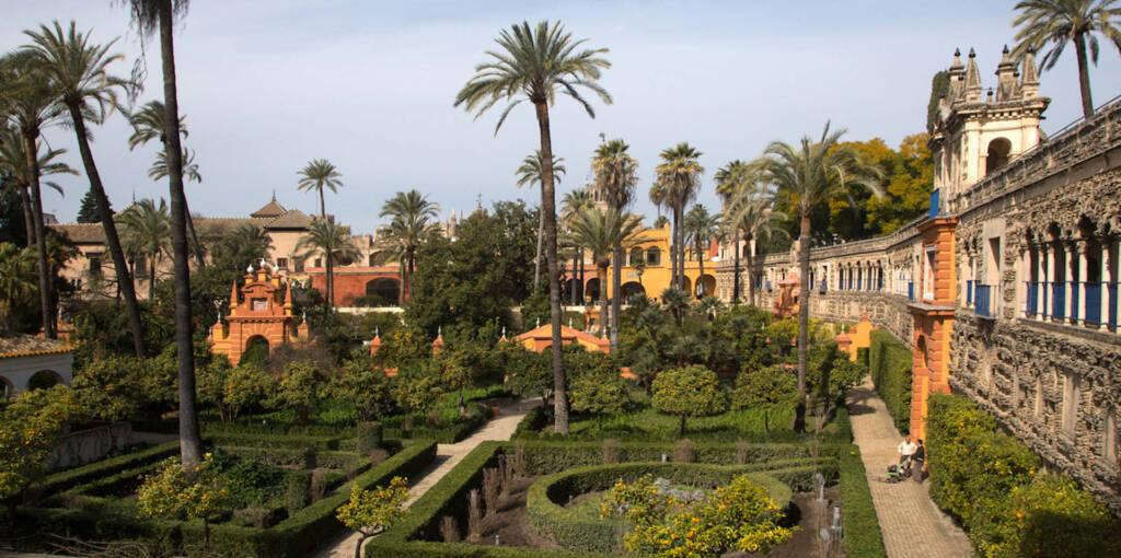 Travellers Insight Reiseblog Sevilla Garten