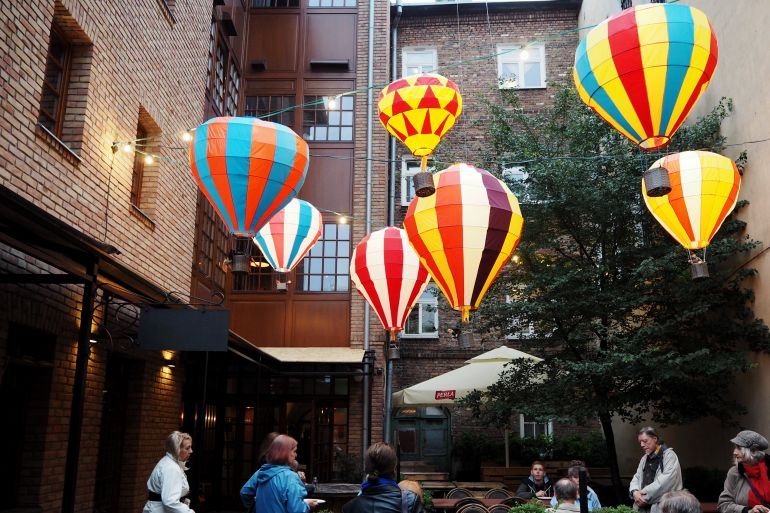 Travellers Insight Reiseblog Lublin Gastgarten Geschmacksfestival
