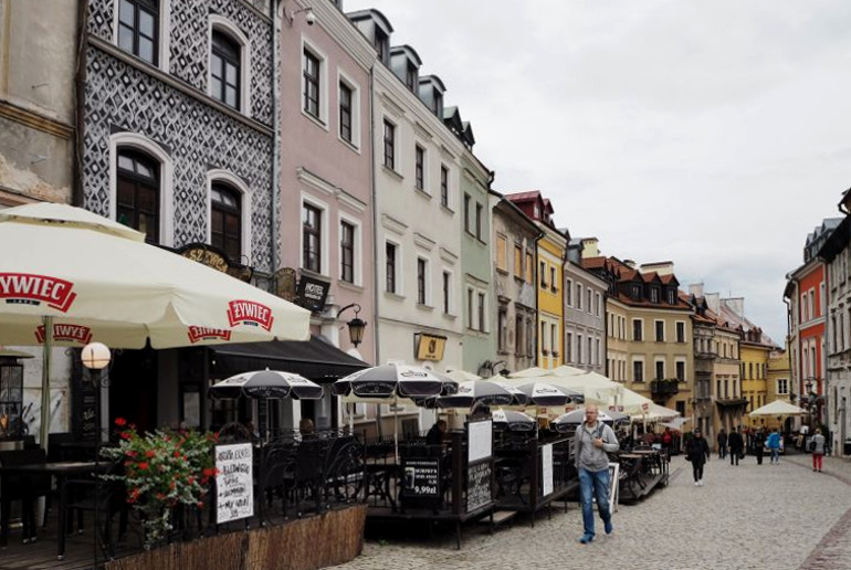 Travellers Insight Reiseblog Lublin Altstadt Restaurants